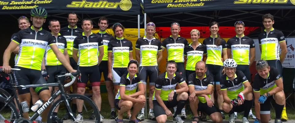 Die erfolgreichste Mannschaft beim 24 h Rennen in Kelheim 2014!